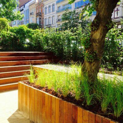 Garden of Eden |Jardin urbain au coeur de Bruxelles