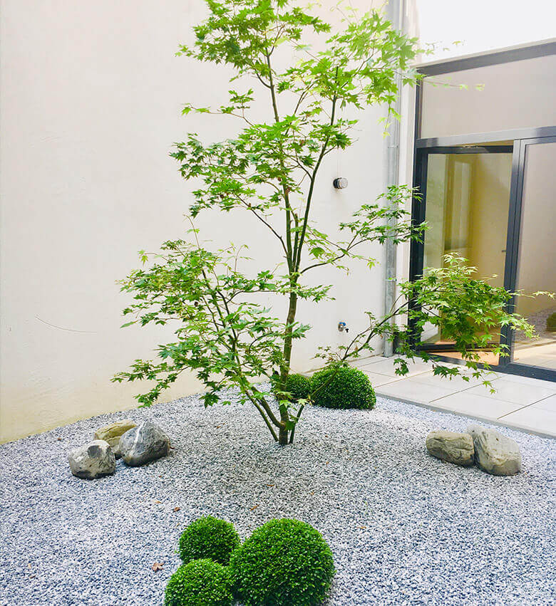 Jardin urbain chinois